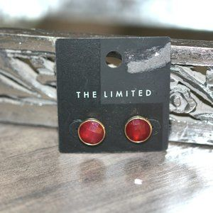 NEW The Limited Red Post Earrings